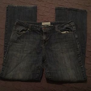MAURICES boot cut jeans size 15/16